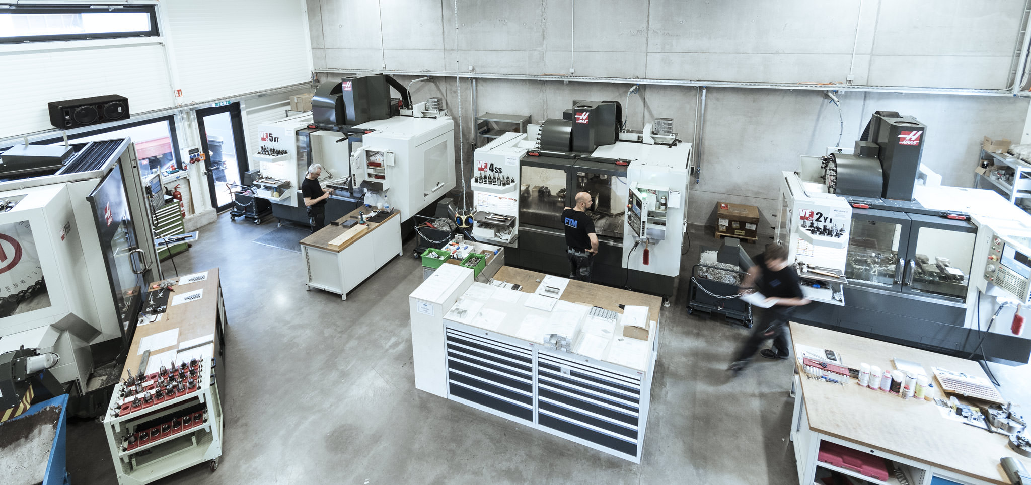 Frästechnik Moosmann Produktionshalle